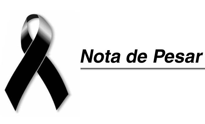 * Nota de pesar da Escola Municipal Josué de Oliveira.
