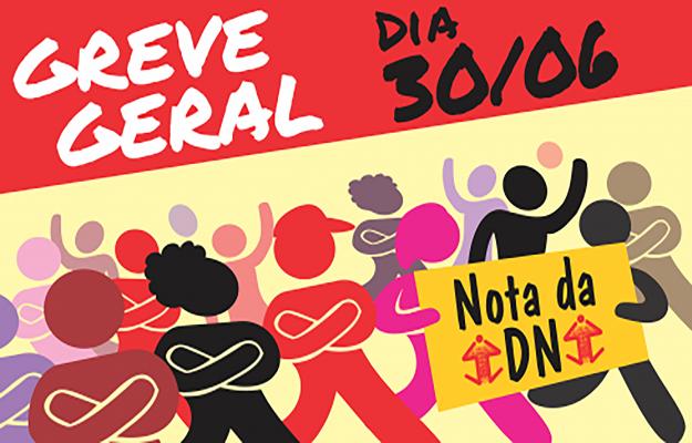 DN lança Nota definindo Greve Geral de 30/06 como prioridade para o SINASEFE