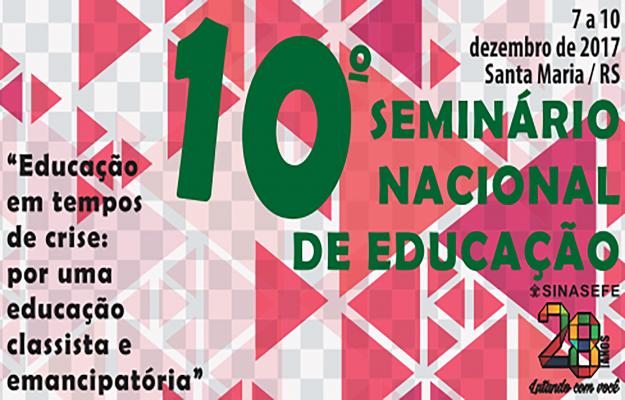 10º SNE: fique por dentro das informações mais atualizadas do evento, que acontecerá de 7 a 10/12, em Santa Maria-RS
