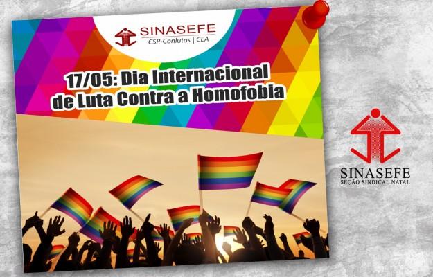 17/05: Dia Internacional de Luta Contra a Homofobia