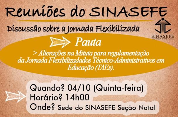Atenção servidores! Reunião ampliada discutirá jornada flexibilizada dos TAEs nesta quinta-feira (04/10)