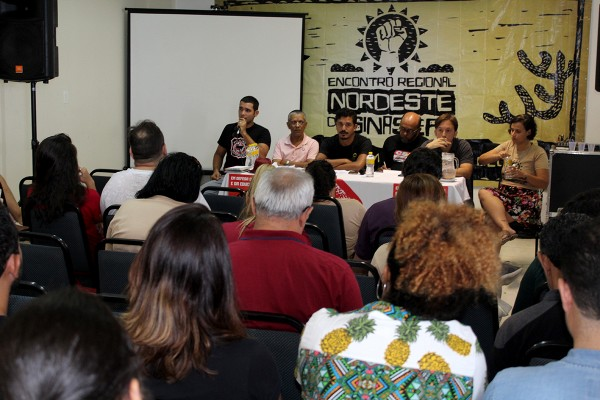 Encontro Nordeste do SINASEFE reforça unidade e defende construção de novas estratégias de luta