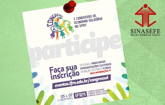 I Congressol acontece de 05 a 07 de dezembro no CNat/IFRN