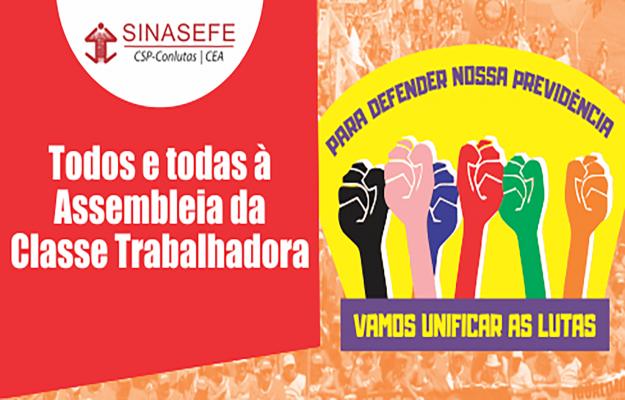 Centrais sindicais convocam resistência em defesa da previdência